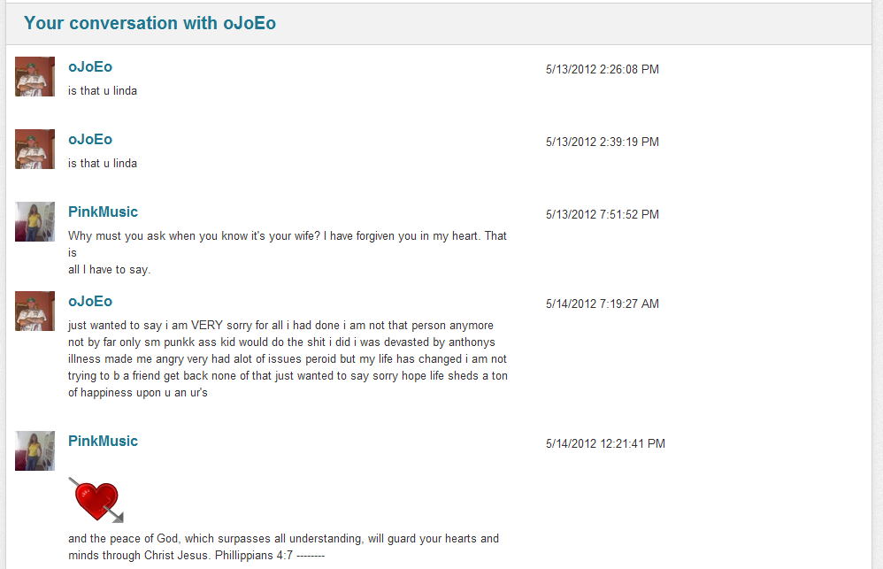 Dating Website Conversation